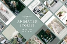 Portfolio Animated Stories  by  in Instagram
