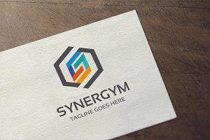 Letter S - Synergym Logo