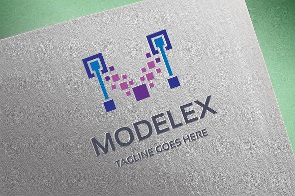 Letter M - Modelex Logo