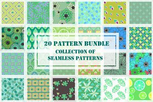 20 Patterns Monthly Bundle