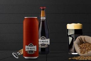 Beer Branding Mockup