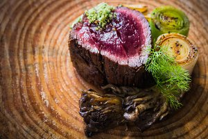 Gourmet Rare Steak