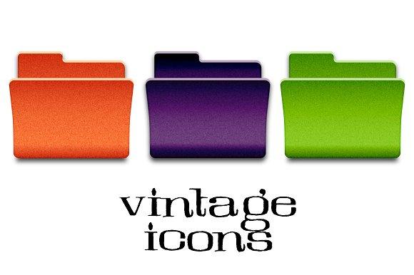 Vintage Folder 24