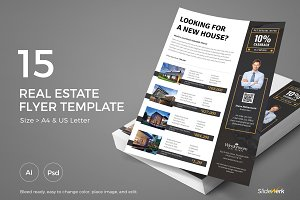 Real Estate Flyer 15