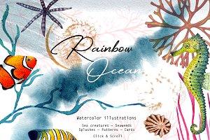 """""""RAINBOW OCEAN"""""""