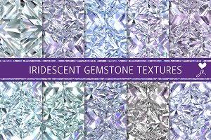 Iridescent Gemstone Textures