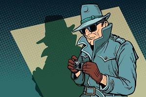 detective spy, shadow