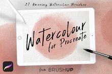 Watercolour for Procreate