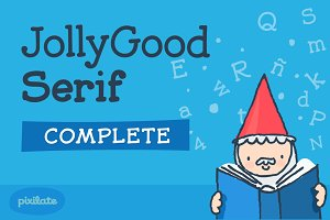 JollyGood Serif- Complete