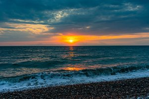 Kvariati beach