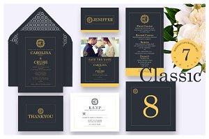 Wedding Invitation - Classic Ac.49