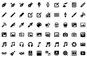 977 Ultimate Flat Glyphicons