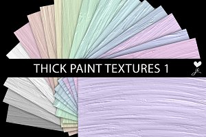 Thick Paint Textures 1