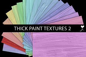 Thick Paint Textures 2