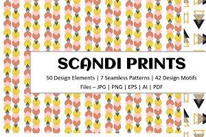 Modern Scandi Print Patterns -Vol.1