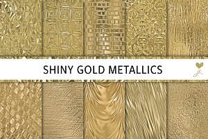 Shiny Gold Metallics