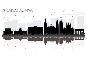 Guadalajara Mexico City skyline