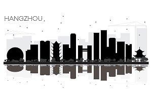 Hangzhou China City skyline