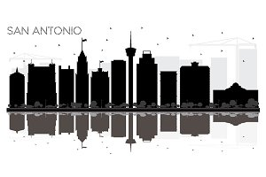 San Antonio Texas City skyline