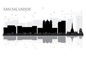 San Salvador City skyline