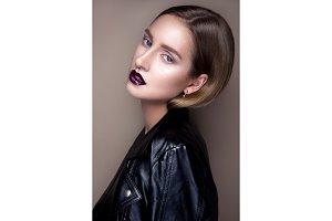 Portrait of gothic girl