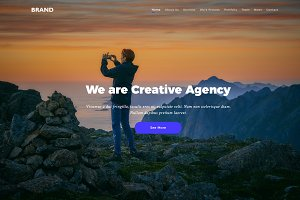 Brand - HTML5 Creative Multipurposes
