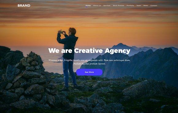 Brand - HTML5 Creative Multipurposes