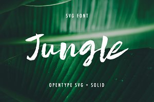 Jungle SVG + Solid