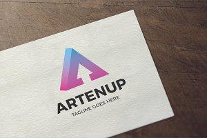 Letter A - Artenup Logo