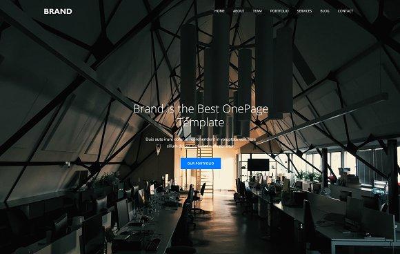 Brand - Modern MultiPurpose Template