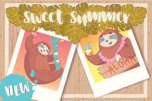 SWEET SLOTH COLLECTION VOL.2