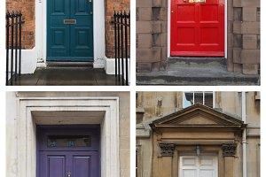 four british door