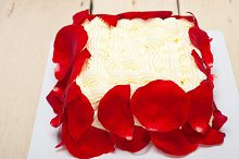 whipped cream mango cake with red rose petals 005.jpg