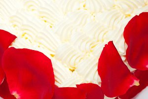 whipped cream mango cake with red rose petals 002.jpg