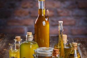 Still life of olives