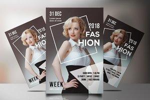 Fashion Show Flyer -V836