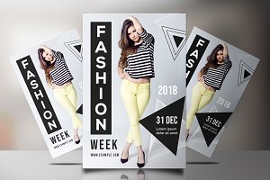 Fashion Show Flyer -V837