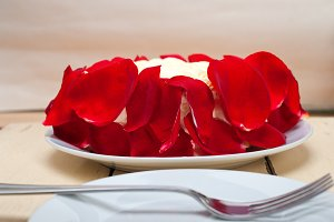 whipped cream mango cake with red rose petals 012.jpg