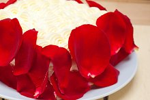 whipped cream mango cake with red rose petals 013.jpg