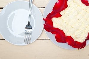 whipped cream mango cake with red rose petals 019.jpg