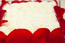 whipped cream mango cake with red rose petals 021.jpg