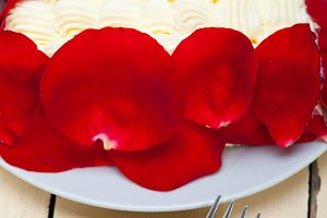 whipped cream mango cake with red rose petals 022.jpg