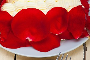 whipped cream mango cake with red rose petals 023.jpg