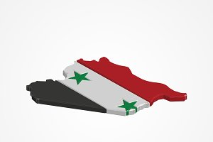 3D Syria Map