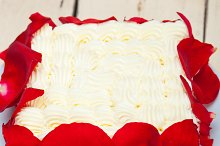 whipped cream mango cake with red rose petals 027.jpg