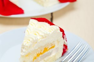 whipped cream mango cake with red rose petals 030.jpg