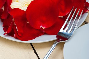 whipped cream mango cake with red rose petals 029.jpg