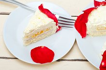 whipped cream mango cake with red rose petals 042.jpg