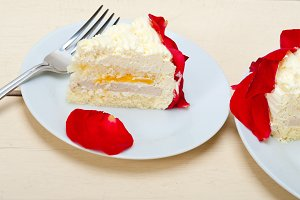 whipped cream mango cake with red rose petals 056.jpg