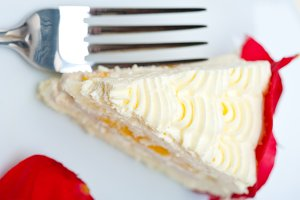 whipped cream mango cake with red rose petals 059.jpg
